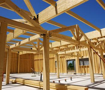 Frédéric Goutal, construire sa maison en bois à Lacaune